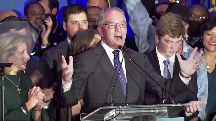 Democrat Wins Governor Election In Louisiana